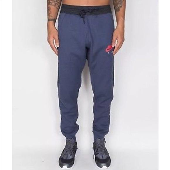 4bc4a0b2e Nike Pants | New Mens Air Fleece Joggers Thunder Blue | Poshmark